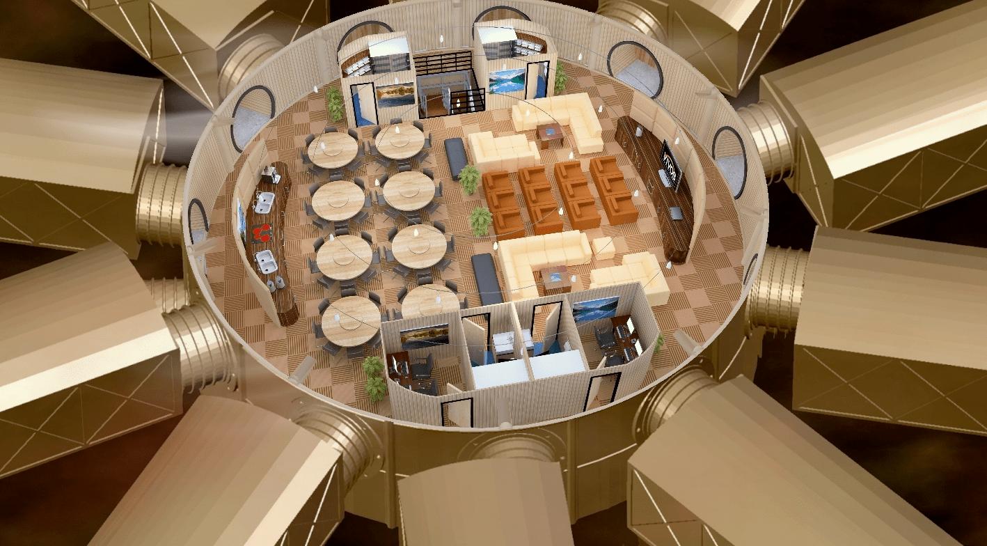 El primer bunker de lujo del mundo