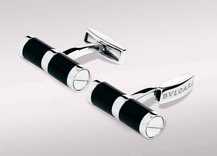 Bvlgari cufflinks the luxury trends