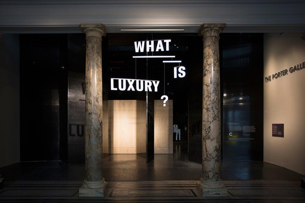 ¿Qué es el lujo? Una exposición del Victoria & Albert Museum