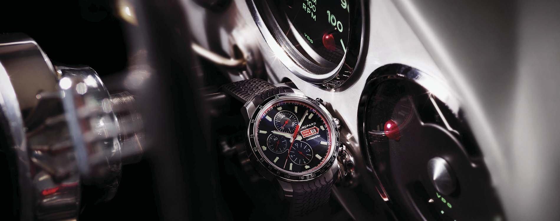 Mille Miglia GTS Chrono de Chopard compitiendo con estilo