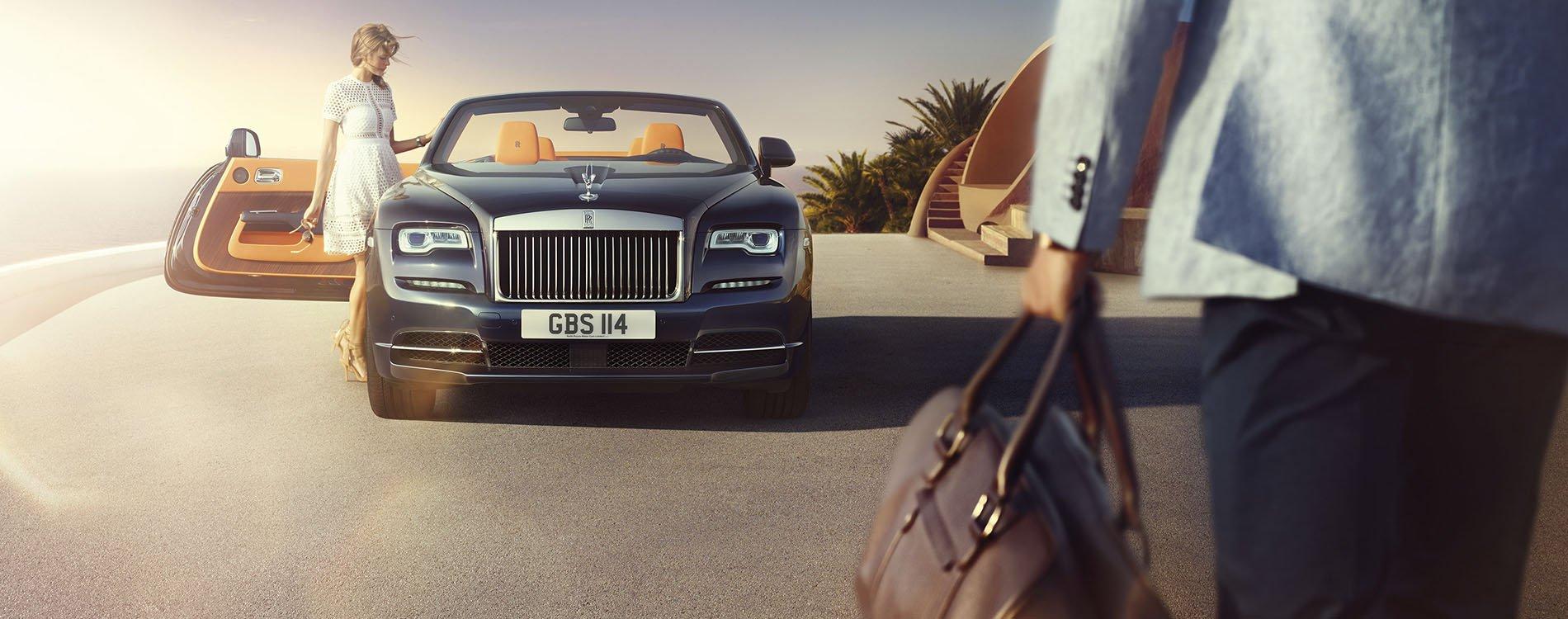 Rolls-Royce Dawn, lujo descapotable