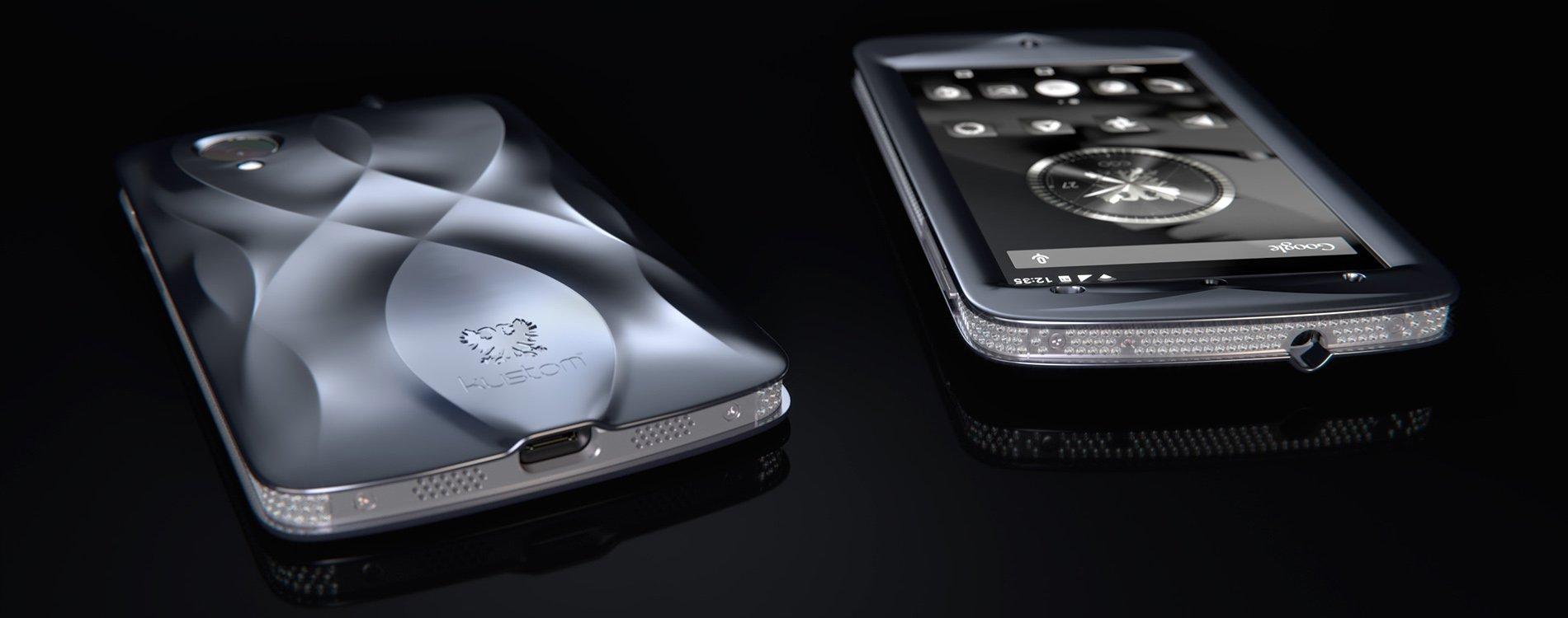 Nace EGO, el smartphone de gran lujo de KUSTOM