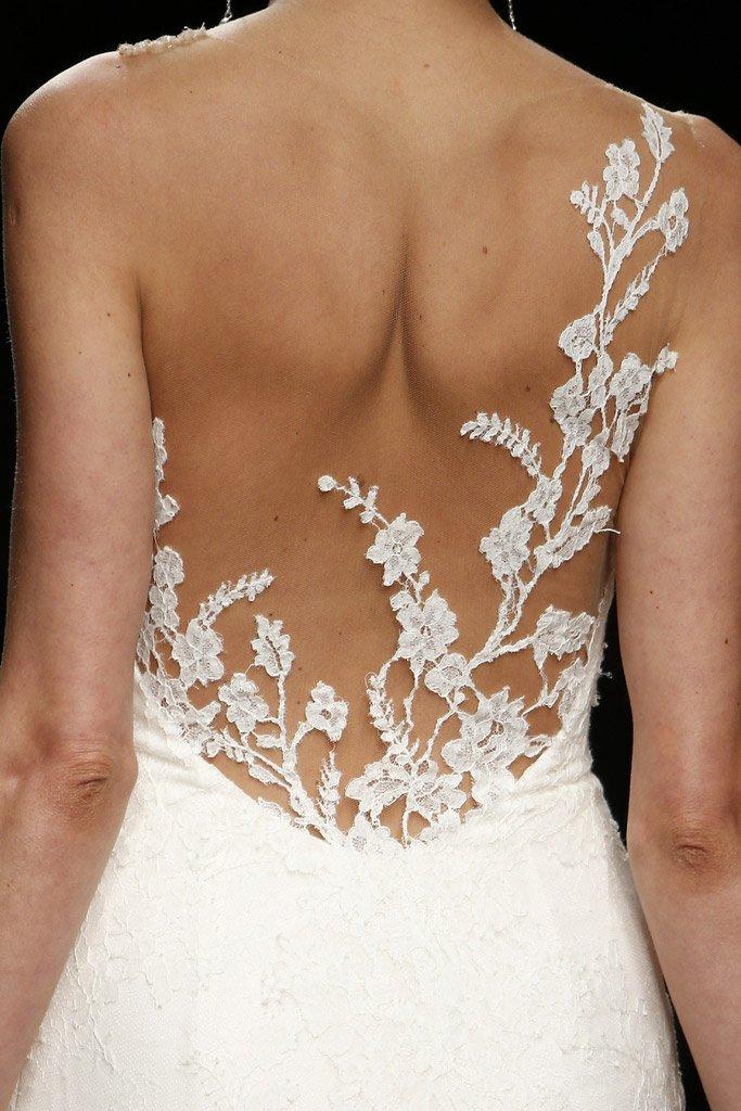 Wedding Trends: el efecto tatuaje en los vestidos de novia