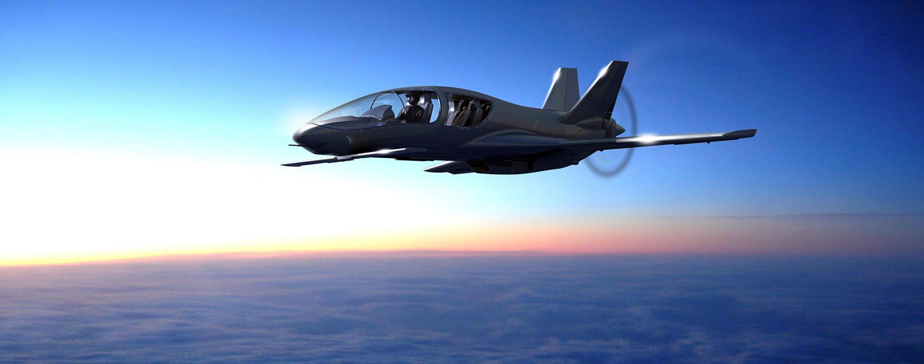 Co50 Valkyrie, un jet privado con diseño de avión de combate