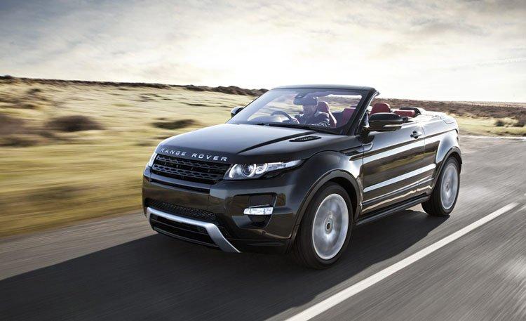 Range Rover Evoque Cabrio, automoción de edición limitada