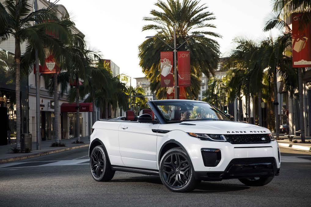 Range Rover Evoque Cabrio The Luxury Trend