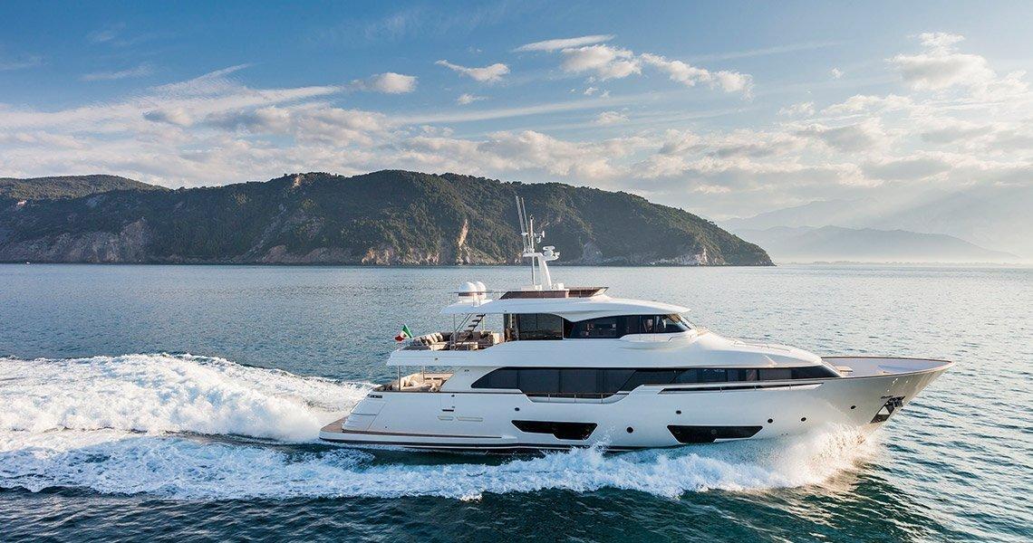 Ferretti Group presenta el nuevo yate de lujo Navetta 28