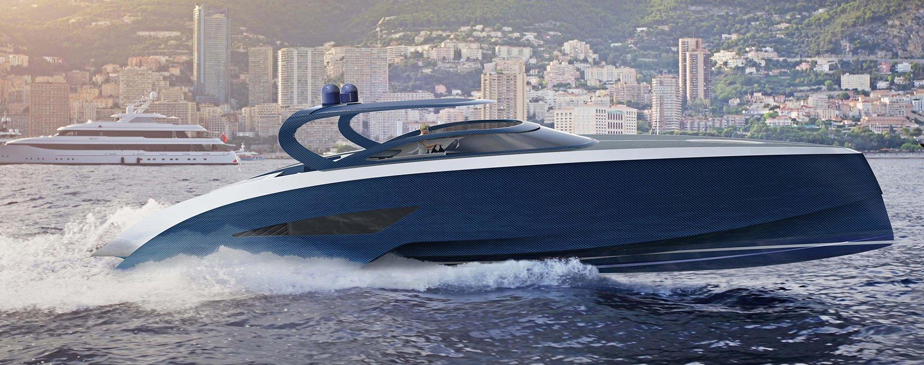 Niniette, un nuevo yate de lujo de Bugatti en colaboración con Palmer Johnson