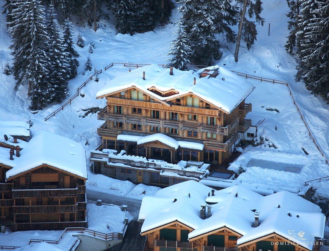 La mansión de Richard Branson en los Alpes, un lujo en alquiler