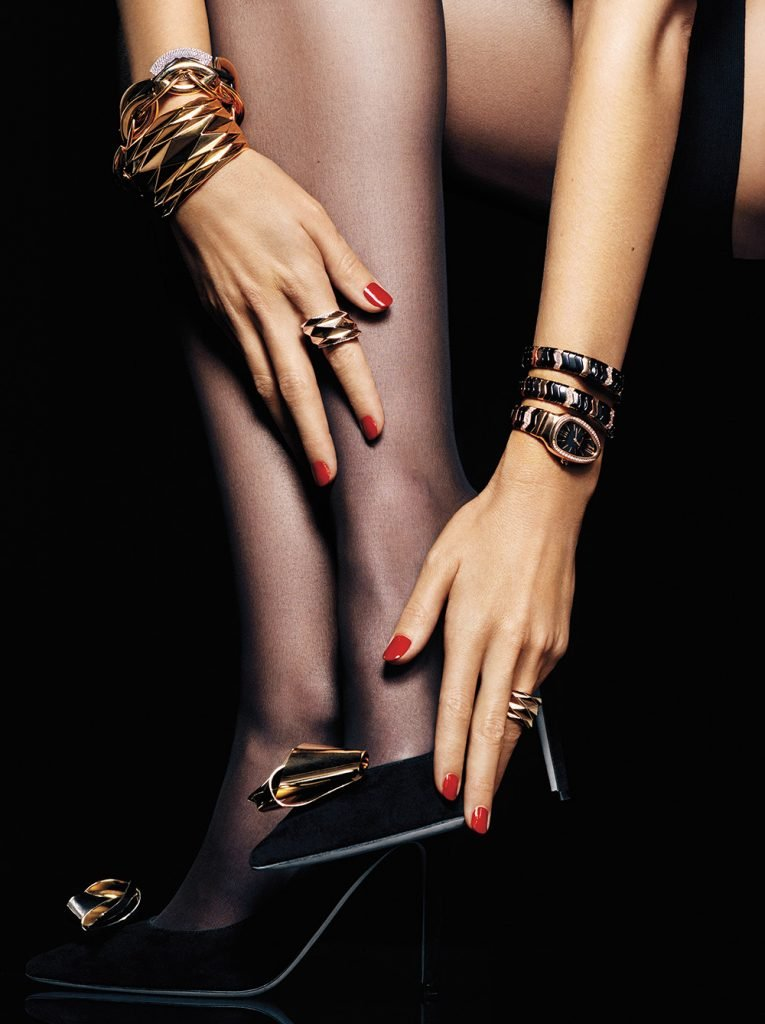 Zapatos Bulgari Serpenti The Luxury Trends