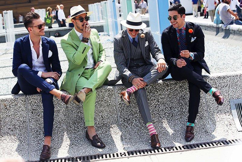 Las mejores tendencias en moda masculina se dan cita en Pitti Uomo