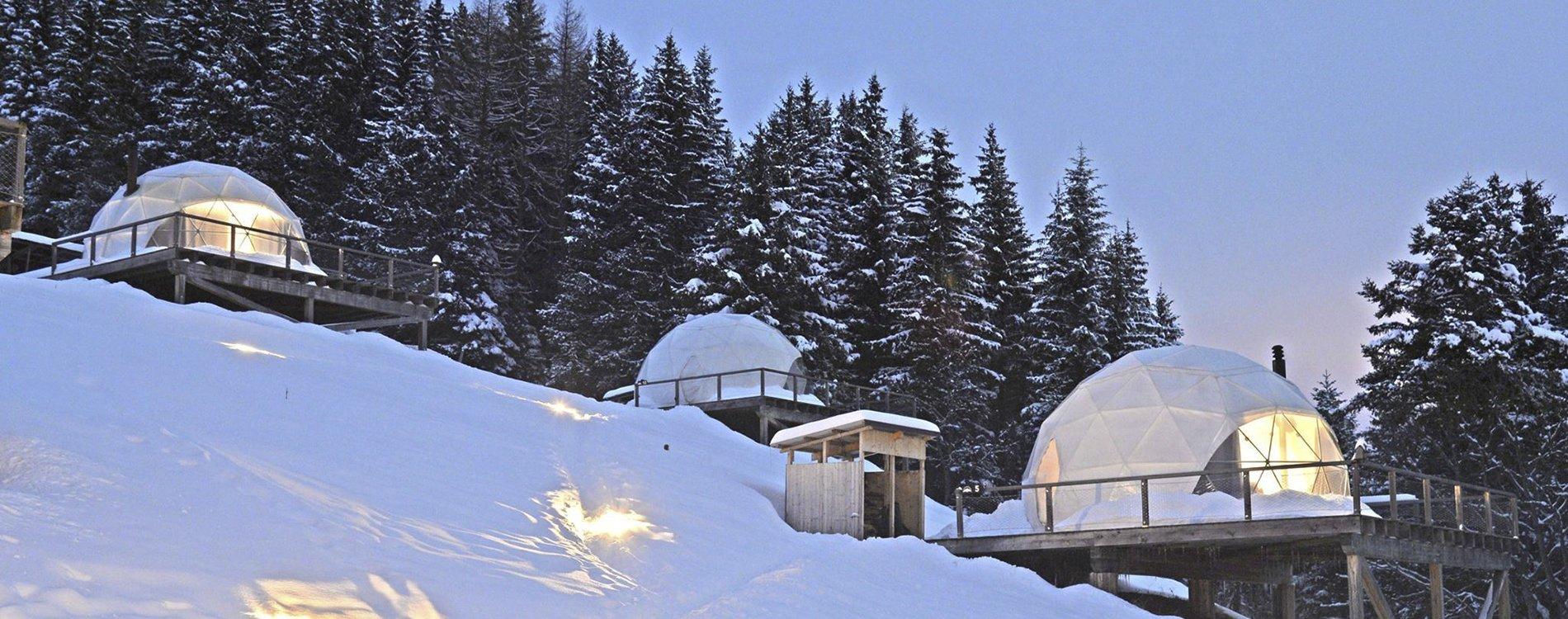 Whitepod, combinación perfecta de ecología y lujo en los Alpes Suizos