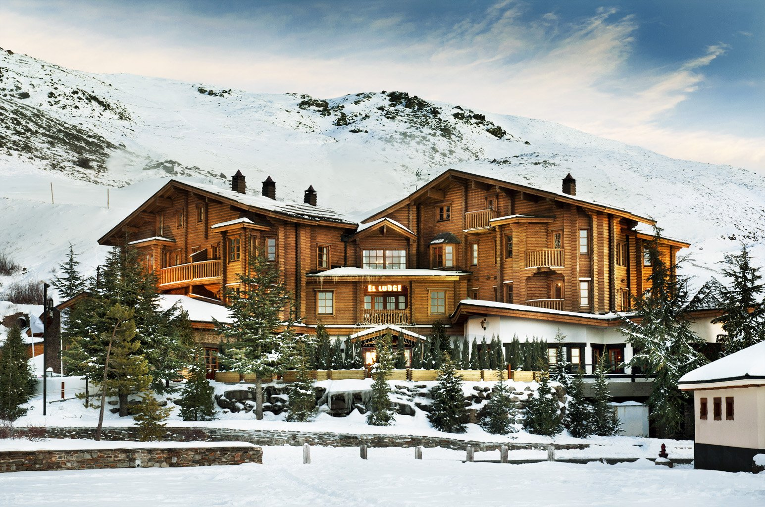 Lodge Ski & Spa, un refugio alpino de lujo en Sierra Nevada