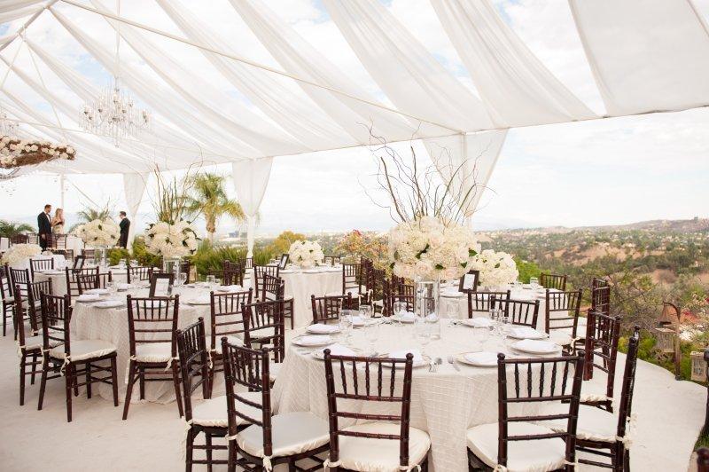 Telas colgantes bodas The Luxury Trends