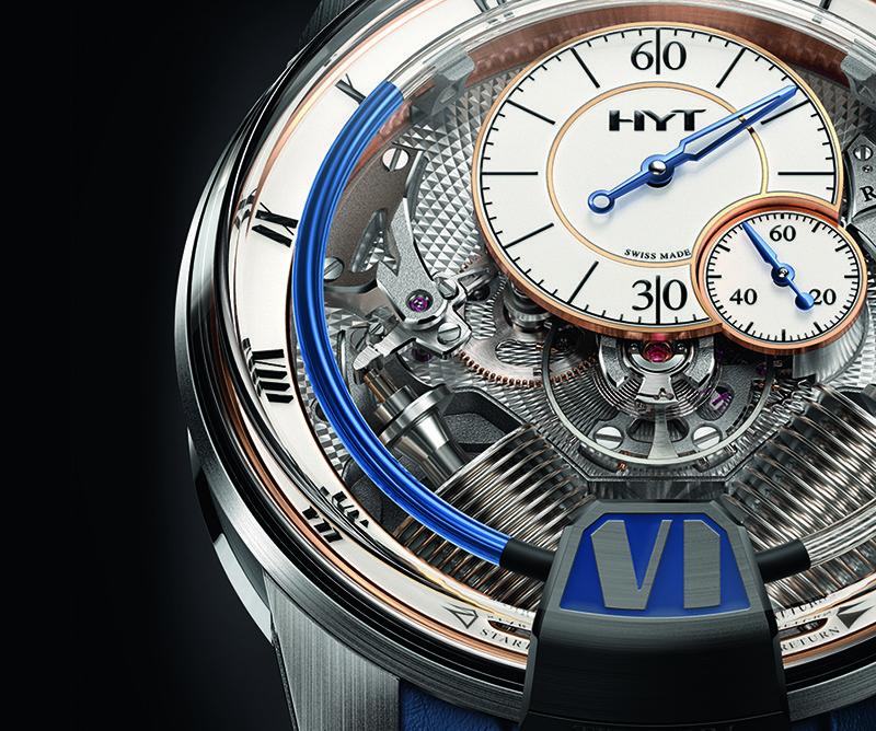H2 Tradition, el reloj más clásico de HYT