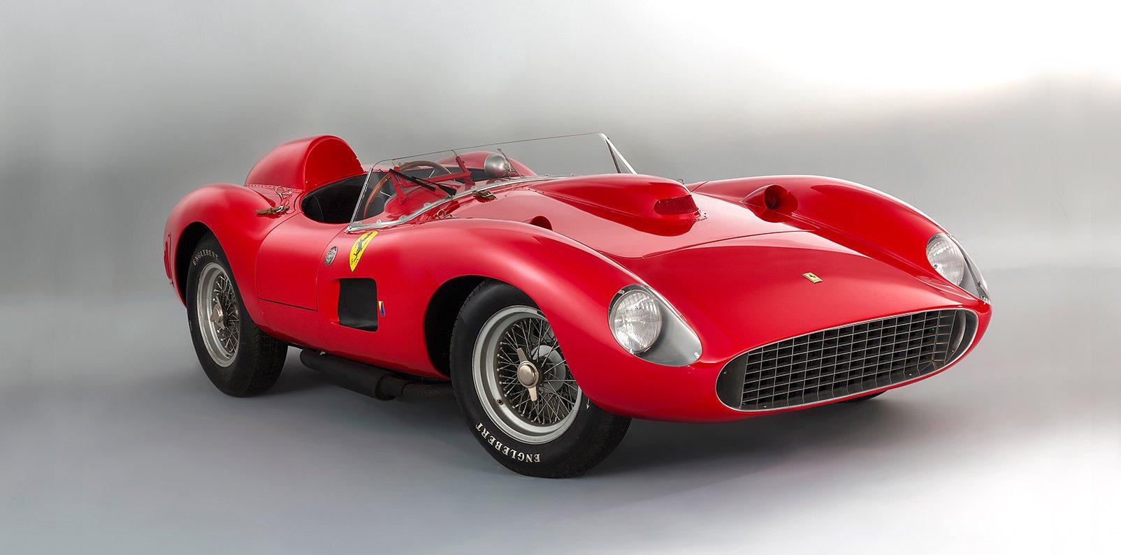 Ferrari 335 S Spider Scaglietti, un coche de ensueño convertido en el más caro del mundo