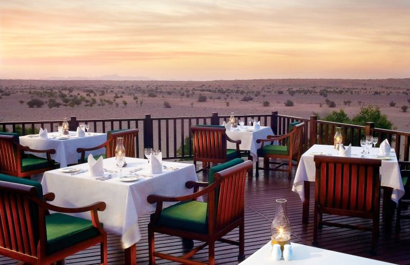 the luxury trends Al Maha Desert Resort