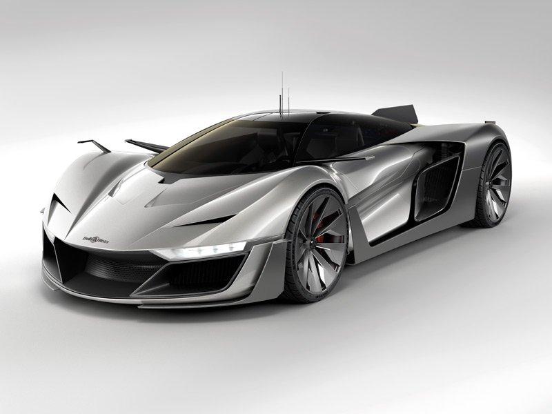 Bell & Ross diseña un concept car deportivo al que sólo le falta volar