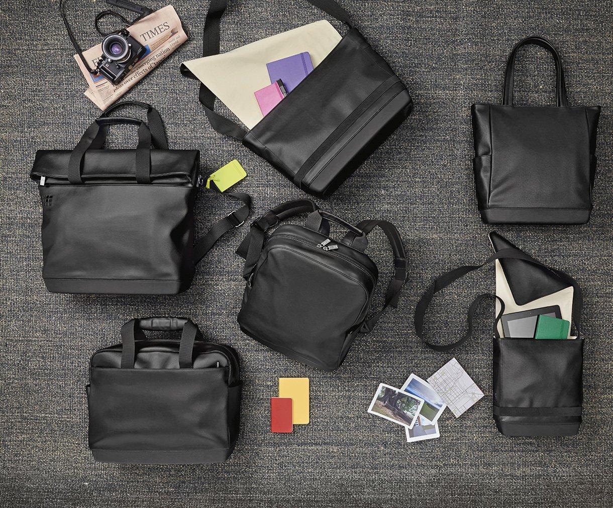 Los bolsos Moleskine expresan tu personalidad
