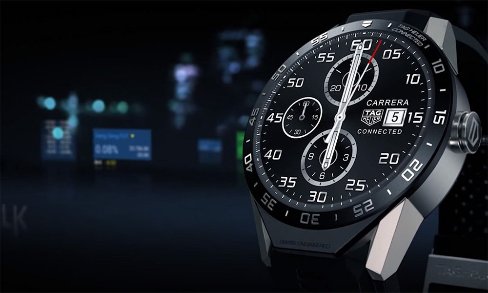 Tag Heuer Connected, un smartwatch con aspecto de reloj tradicional