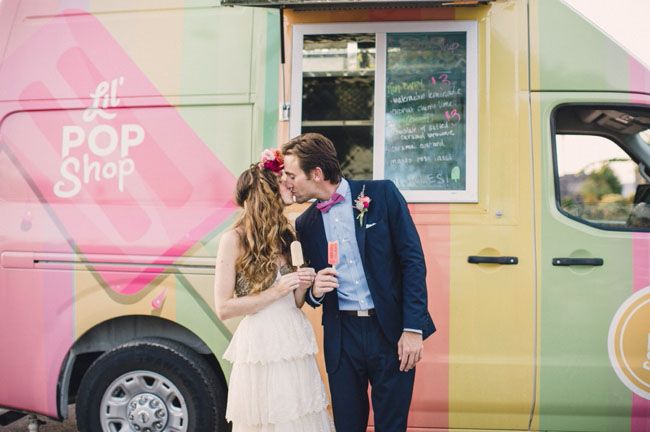 Wedding ice food trucks