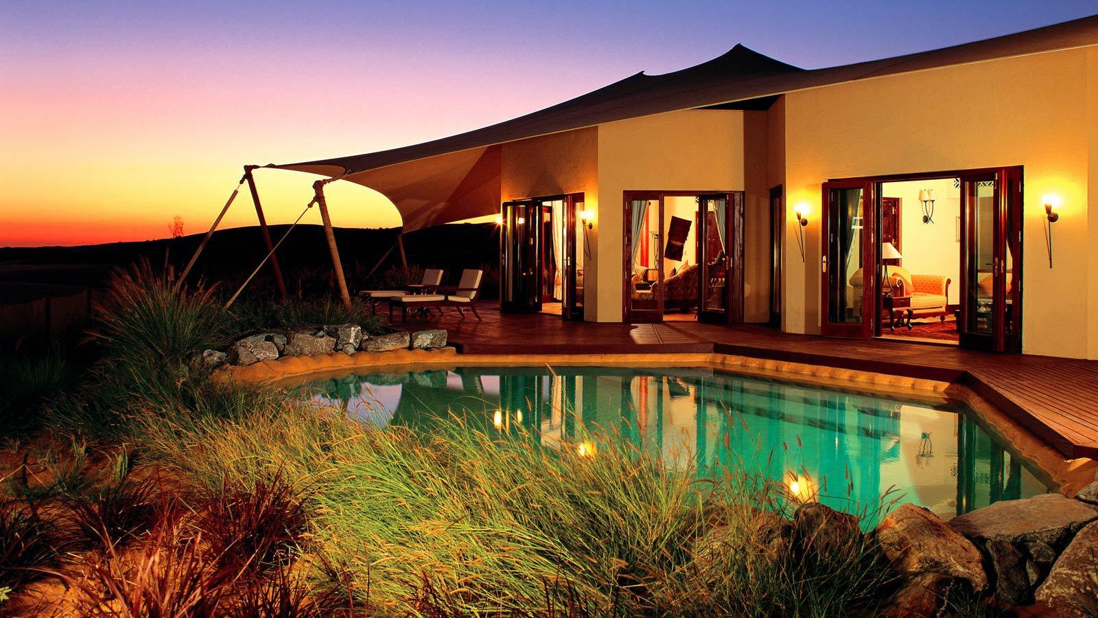 Al Maha Desert Resort, un oasis en pleno desierto de Dubai