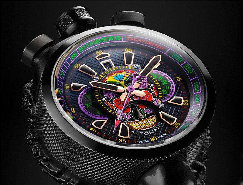 Bolt 68 Skull Phantom, un reloj para los gentlemen más rebeldes