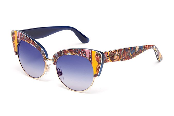 18d590ac63 Estallido de color en las nuevas gafas de Dolce & Gabbana : The ...