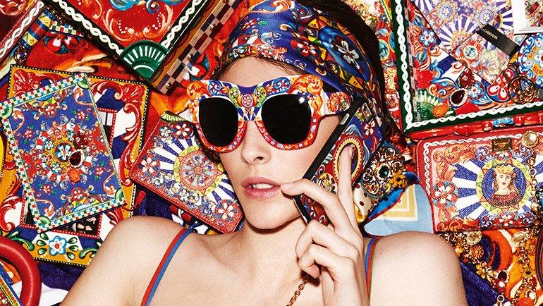 Estallido de color en las nuevas gafas de Dolce & Gabbana