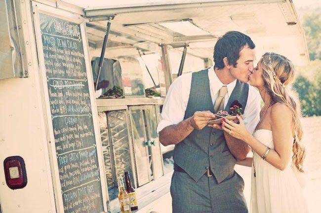 """Los """"Food Trucks"""" o Caravanas como concepto de boda"""