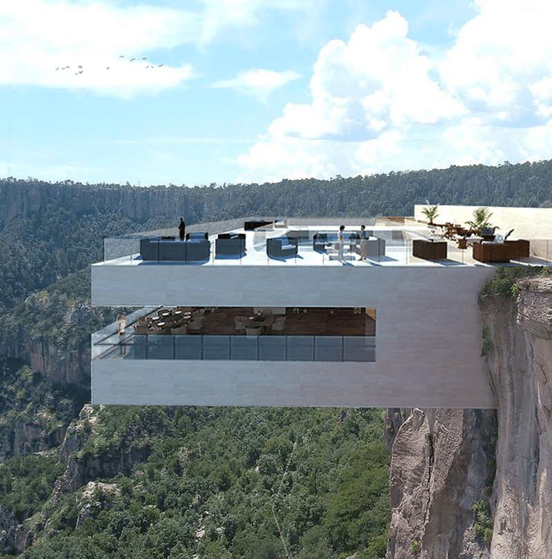 Biré Bitori, un restaurante para comer sin miedo a las alturas