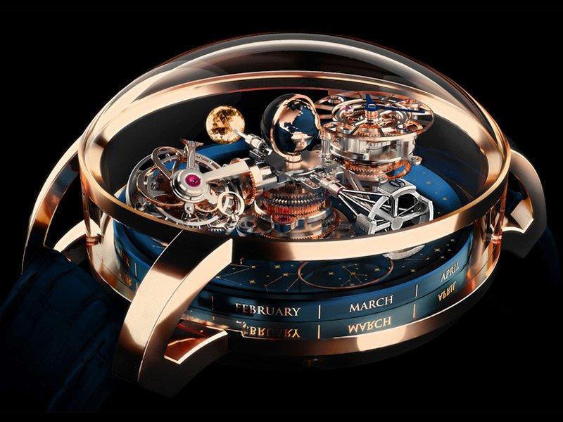 Jacob & Co crea un reloj astronómico tridimensional