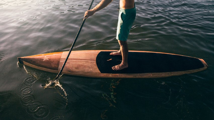 The Luxury Trends Paddle Surf