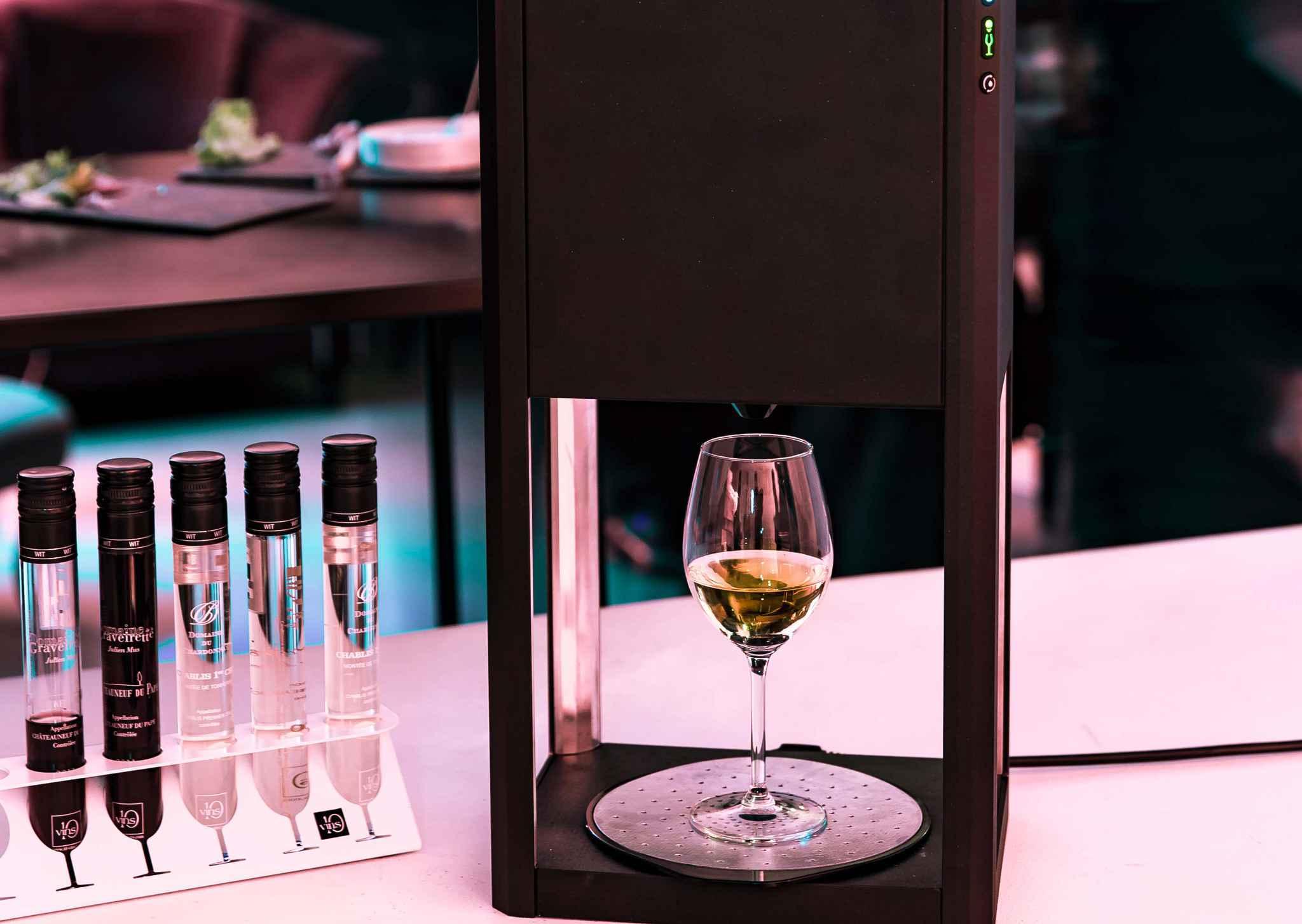 D-vine revoluciona la degustación de vino con monodosis