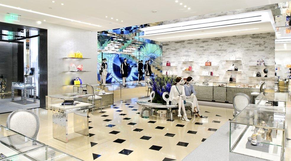 Interior Boutique Dior Miami