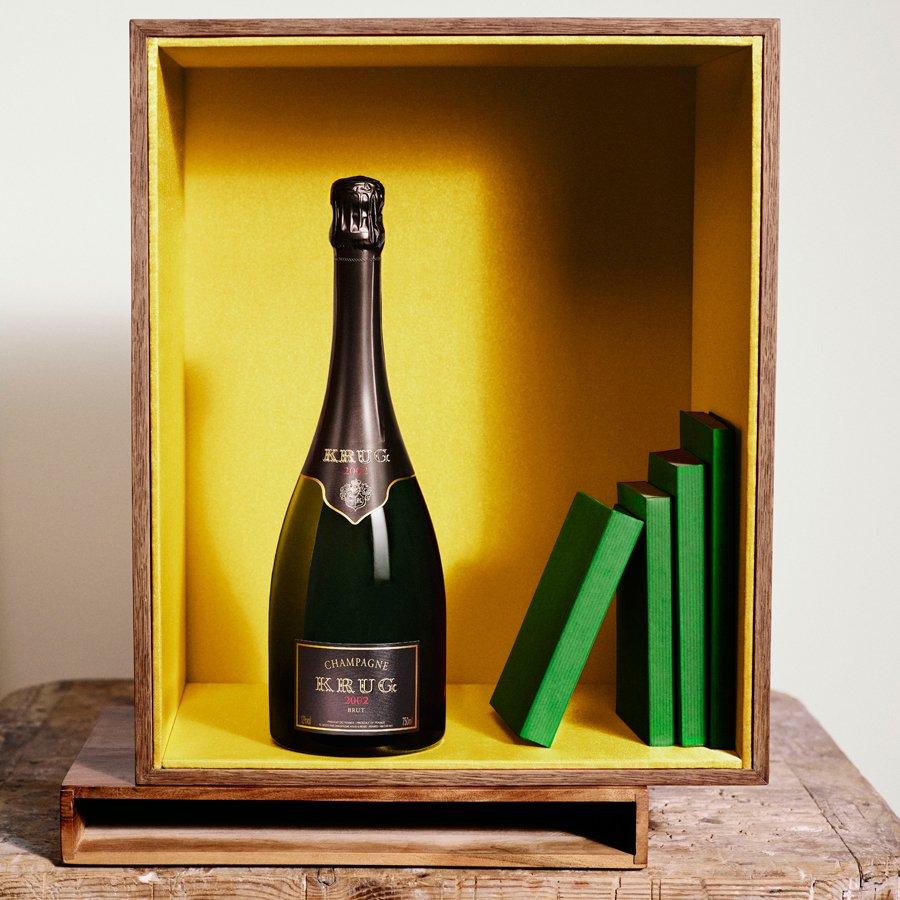 El nuevo champagne Krug Vintage 2002 es una oda a la naturaleza