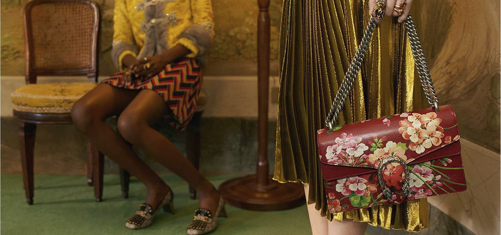 Gucci presenta un servicio Do it Yourself para personalizar su bolso Dionysus