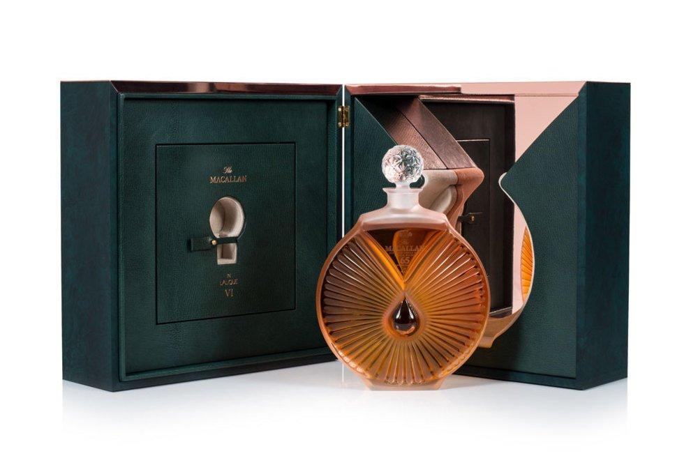 """""""Espíritu Inigualable"""" es el último decantador fruto de la unión entre The Macallan y Lalique"""