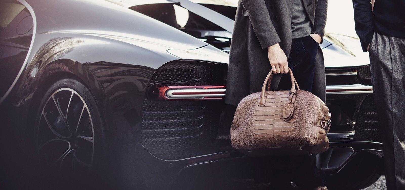 Giorgio Armani y Bugatti, una alianza de lujo