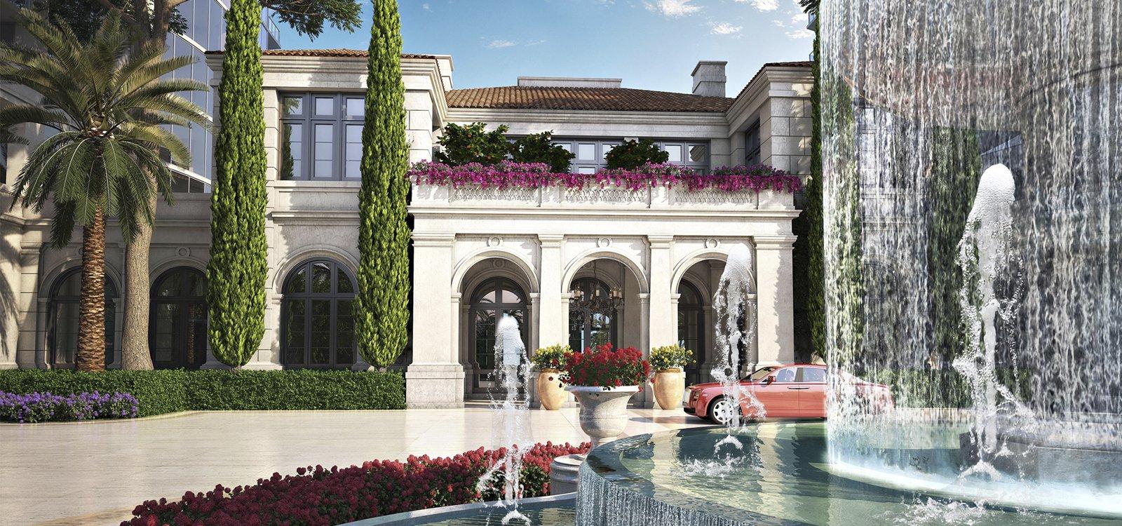 Karl Lagerfeld diseña el lobby de un proyecto de lujo en Miami
