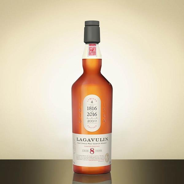 Lagavulin celebra sus 200 años de historia con un whisky de edición limitada