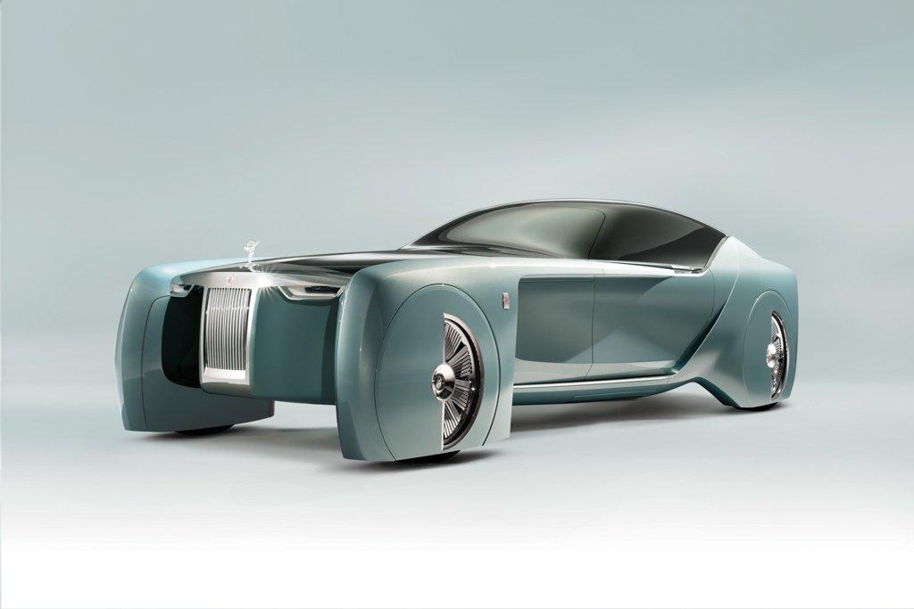 Rolls Royce Vison Next 100, el  coche del futuro de la marca inglesa