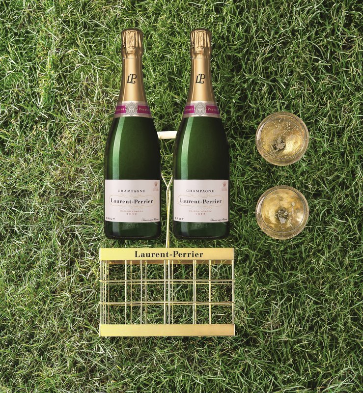 Cesta de picnic de Laurent Perrier para celebrar momentos únicos