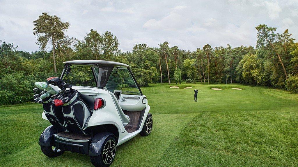 Mercedes Benz diseña un carrito de golf, ideal para los amantes de este deporte y de la marca alemana
