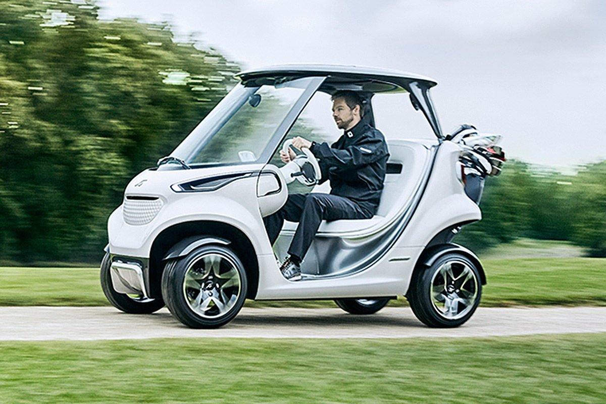 Mercedes Benz Vision Gala Golf Car