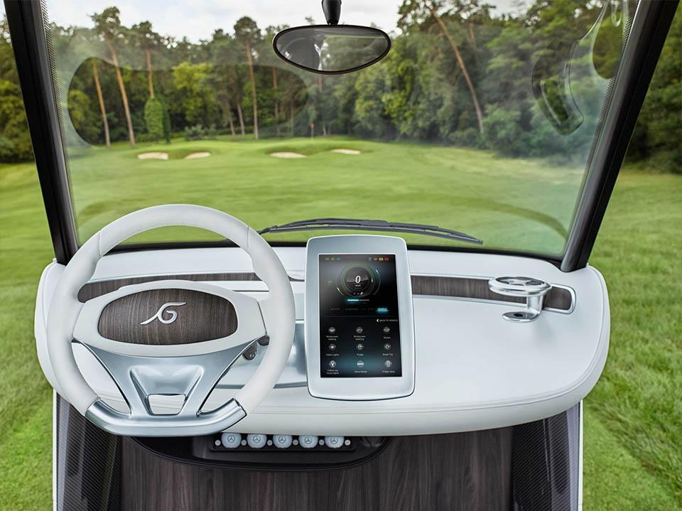 Mercedes benz garia golf cart