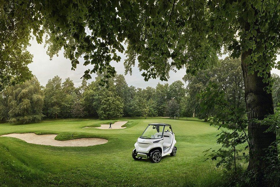 Mercedes benz golf cart