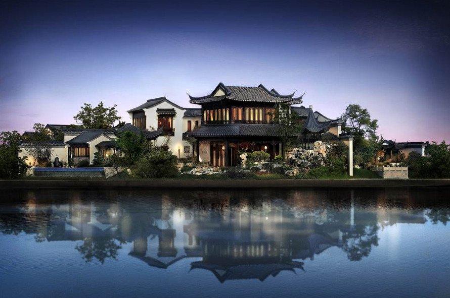 Extraordinaria mansión en China situada en uno de los rincones más bonitos del país