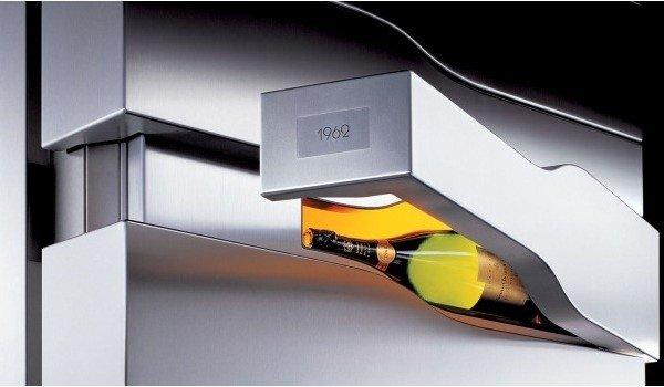 Vertical Limit, una vinoteca de lujo para guardar el mejor champagne Veuve Clicquot