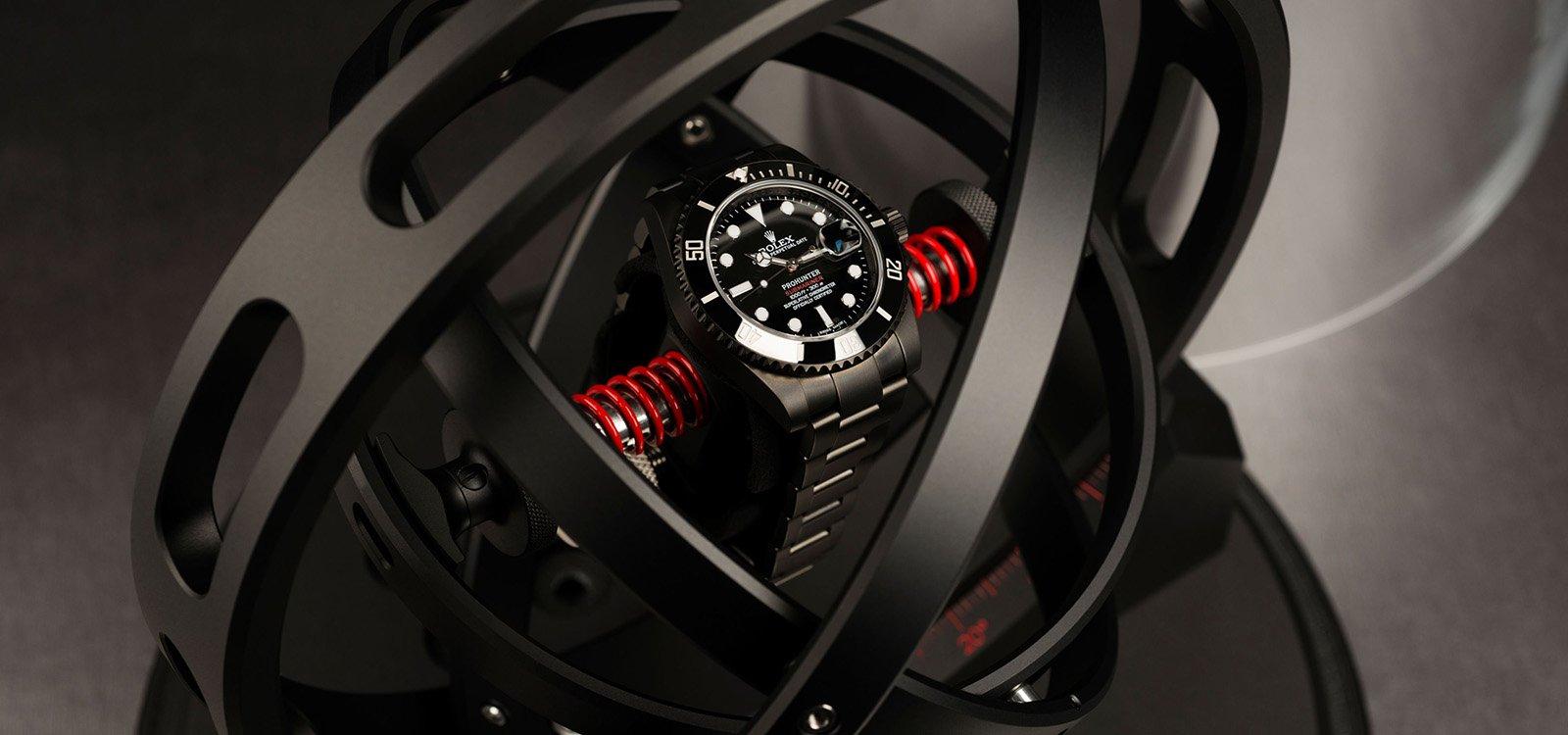Gyrowinder, un instrumento de alta precisión para mantener los relojes en hora